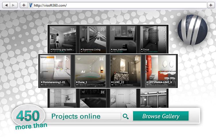 ViSoft 360 Projekte, Panoramen, Bad und Raumplanungen
